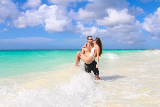 ARUBA COUPLES PHOTO SHOOT STEVE FRANCEES